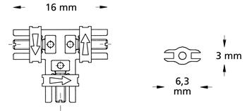 Схема винт Бертони тип А трипосочен